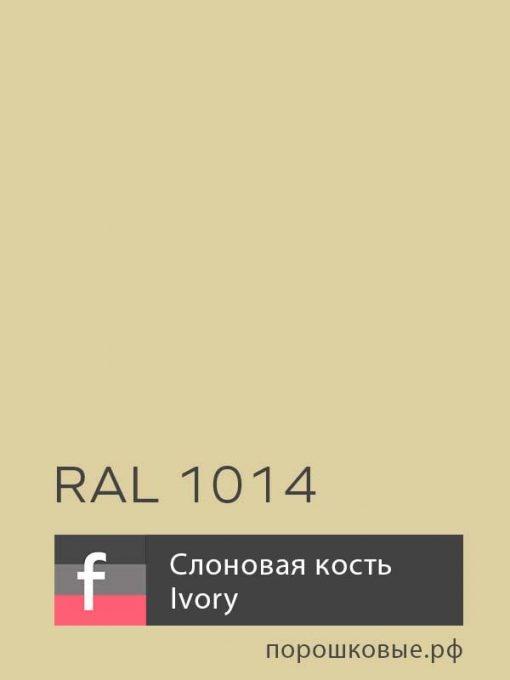 Порошковая краска RAL 1014 / P12 Ivory — Слоновая Кость