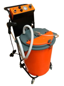 Установки порошковой покраски СТАРТ-50-вибро-3 с баком 50 л