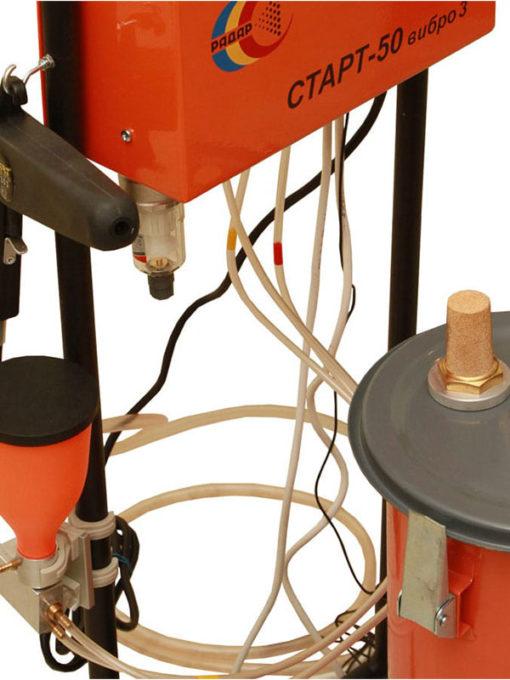 Установки порошковой покраски СТАРТ-50-вибро-3М (величина заряда-100кВ)