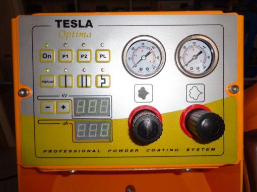 Оборудование для порошковой покраски Tesla Optima