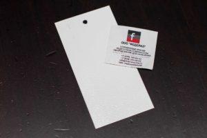 Порошковая краска по металлу шагрень белая глянцевая RAL 9003