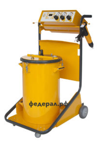 Установка для порошковой покраски ТП-400 с баком 50 литров