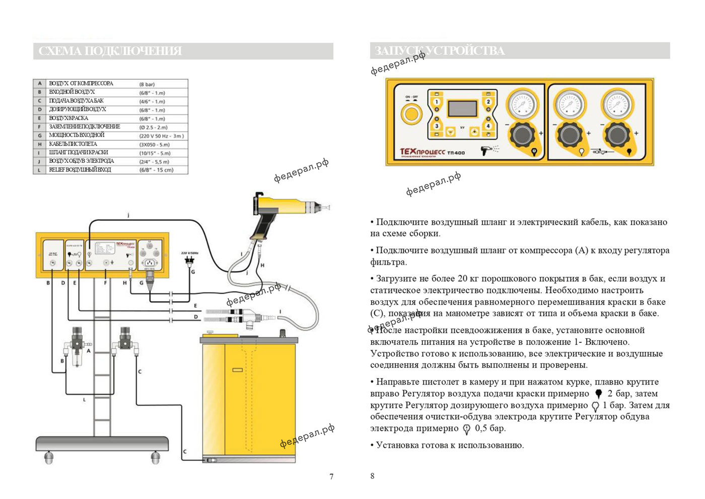 Установка-порошковой-окраски-ТП-400-Паспорт