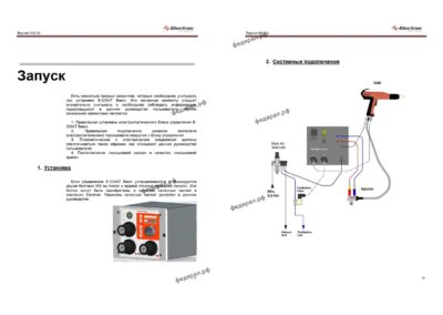 Установка порошковой покраски Electron Basic Паспорт