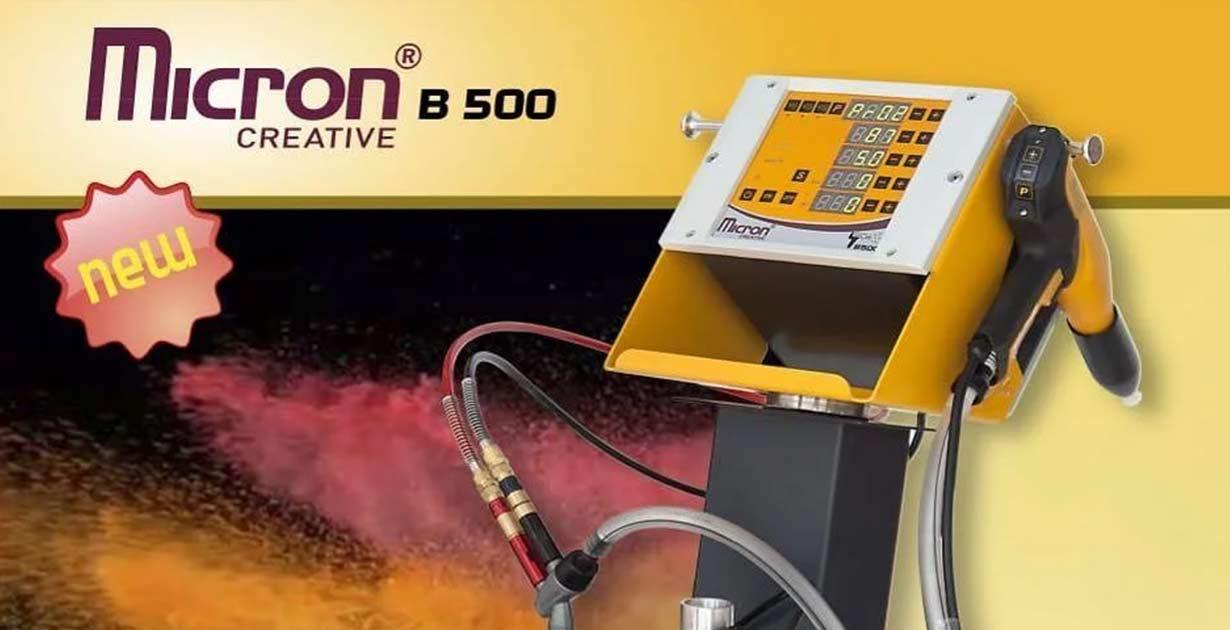 Установка-порошковой-покраски-Micron-B-500 с баком